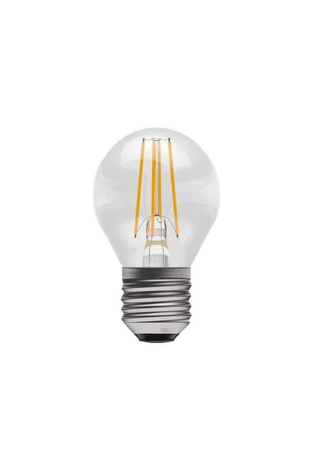 BELL 60125 4W LED Dimmable Filament Round SES Clear 4000K